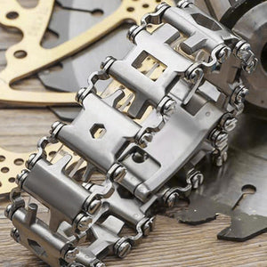 Multi Tool Stainless Steel Outdoor Bracelet