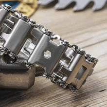 Load image into Gallery viewer, Multi Tool Stainless Steel Outdoor Bracelet