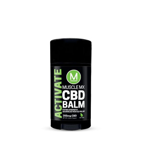 Muscle MX Activate Hemp CBD Balm