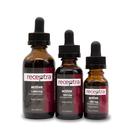 Receptra Active Hemp CBD Oil