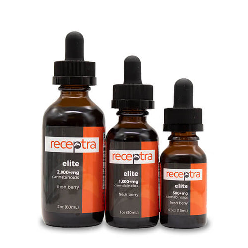 Receptra Elite Hemp CBD Oil