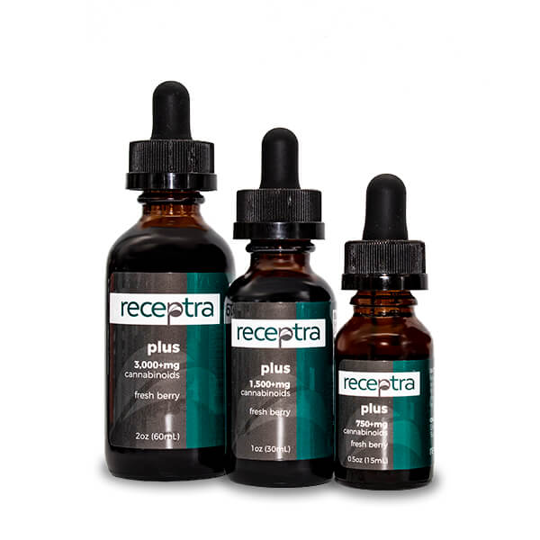 Receptra Plus Hemp CBD Oil