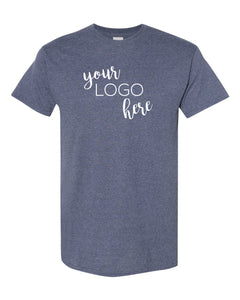 Mock Shop Everyday Tee - heather navy