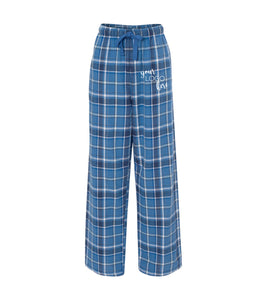 Mock Shop Flannel Pants-royal sparkle