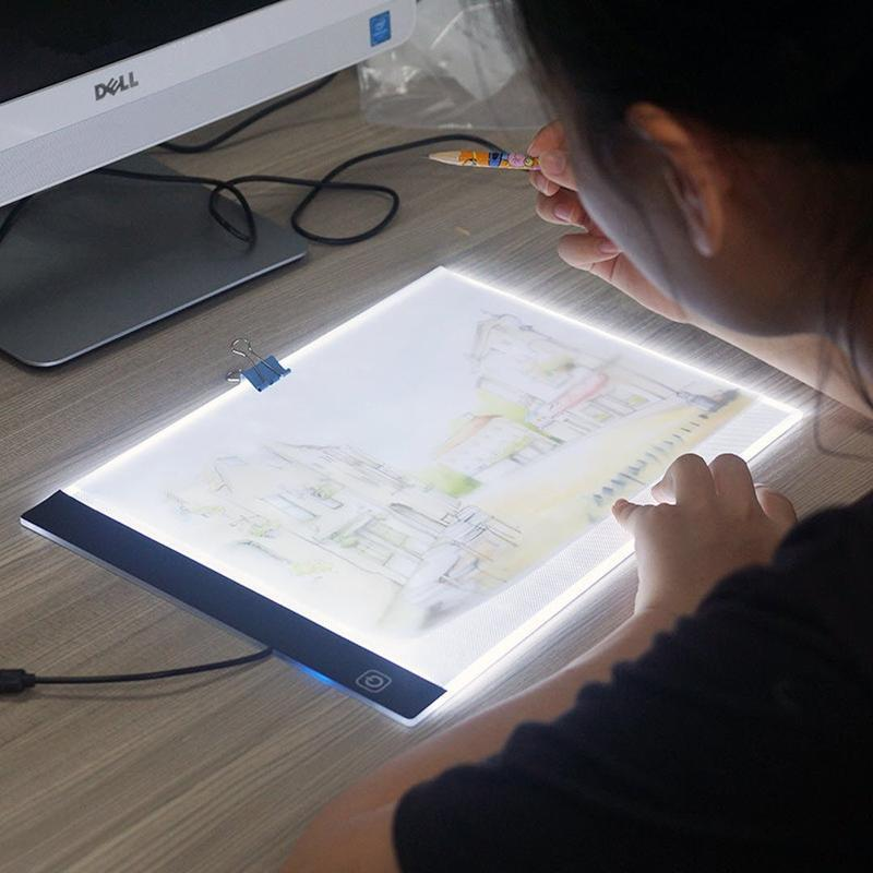 Tablette A4 Led Lumineuse De Traçage Usb