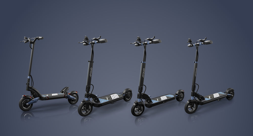 apollo electric scooter models
