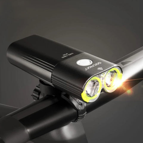gaciron usb rechargeable scooter bike light 1600 lumen
