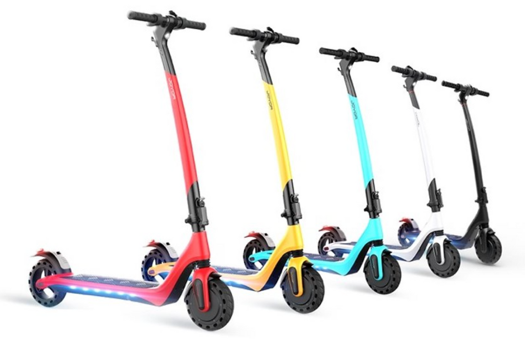 joyor a3 a5 electric scooter white black red yellow light blue