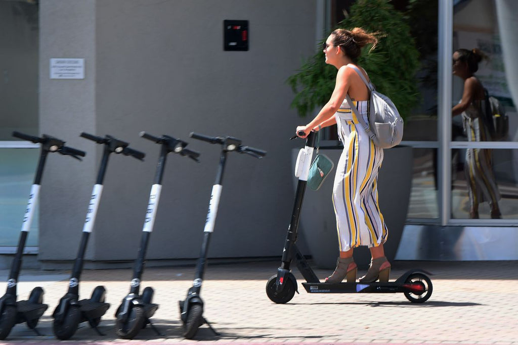 electric scooter sharing renting