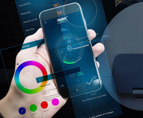 segway ninebot one z10 electric unicycle mobile app bluetooth
