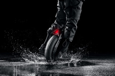 segway ninebot one z10 electric unicycle splash