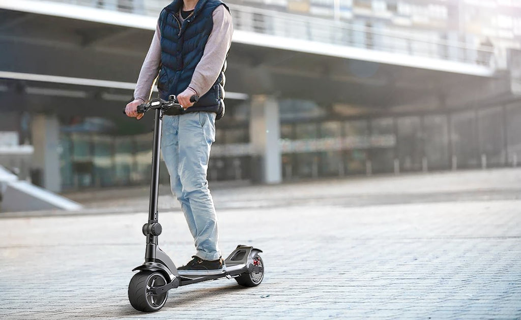 mercane wide wheel pro single double motor e scooter