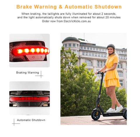 Xiaomi Smart 4u Product Features led braking automatically