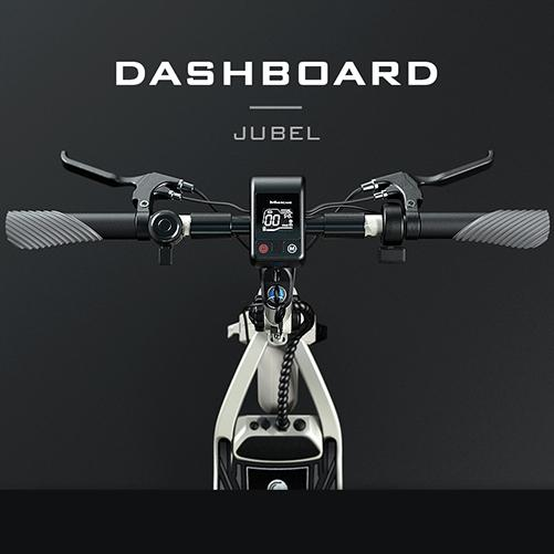mercane jubel electric scooter dashboard