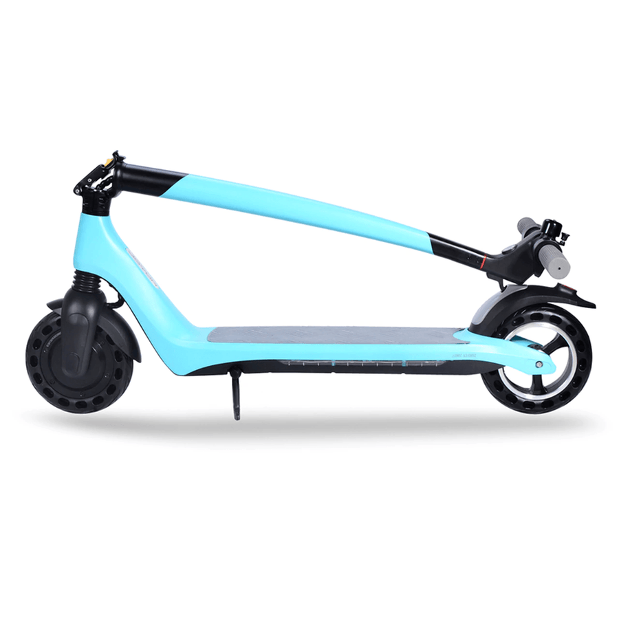 joyor a3 a5 foldable electric scooter light blue