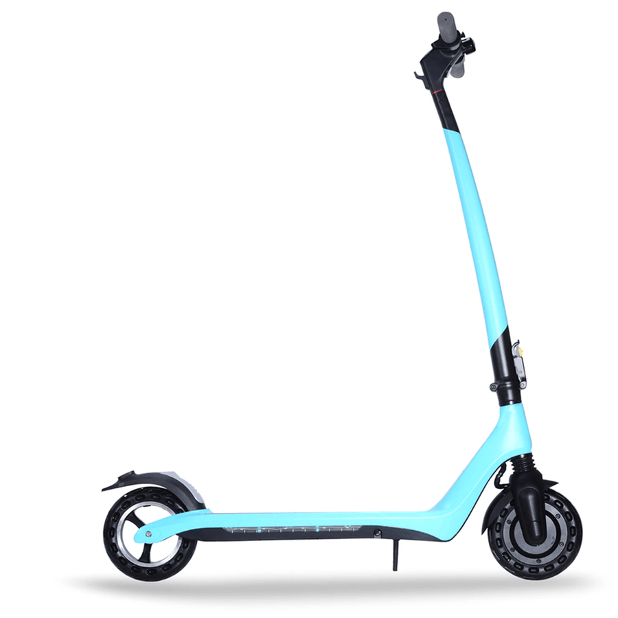joyor a3 a5 electric scooter light blue reverse side