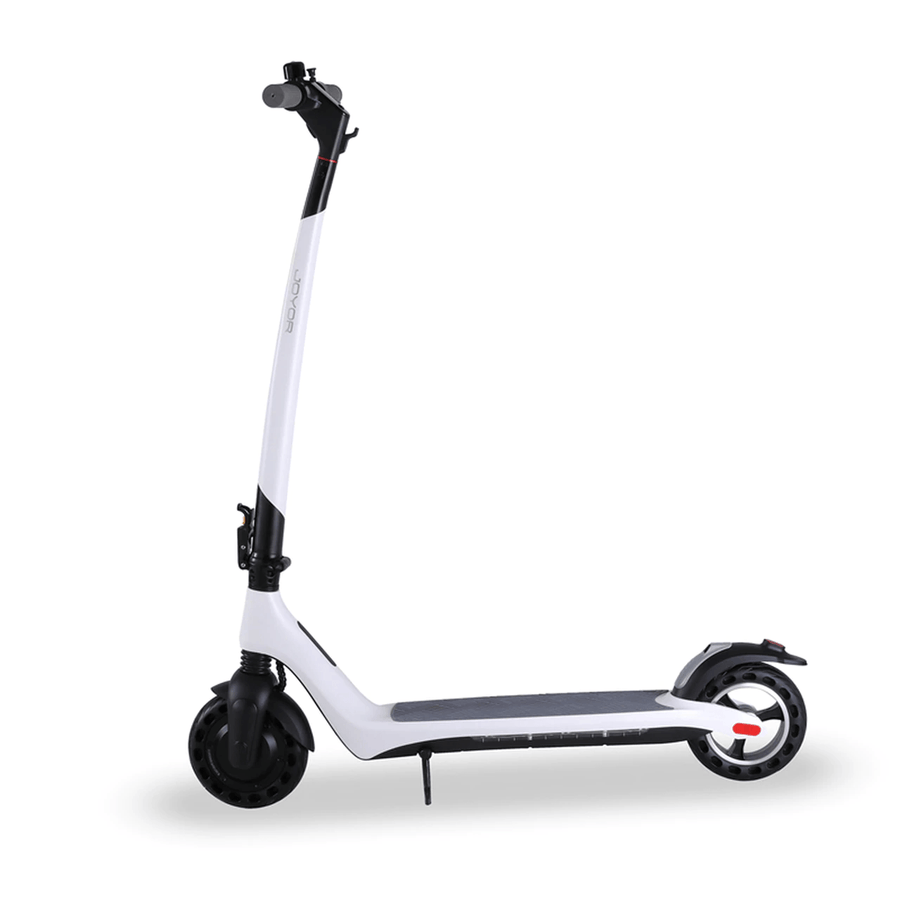 joyor a3 a5 electric scooter white reverse side