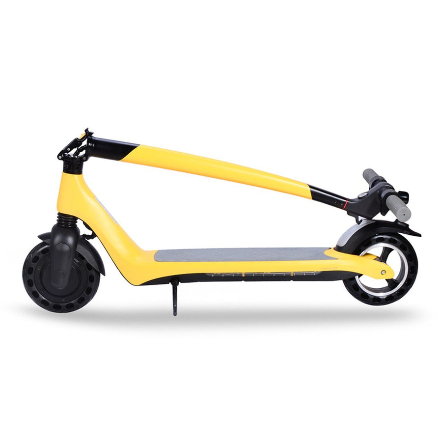 joyor a3 a5 foldable electric scooter yellow
