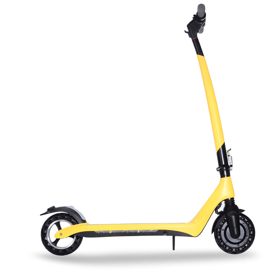 joyor a3 a5 electric scooter yellow side