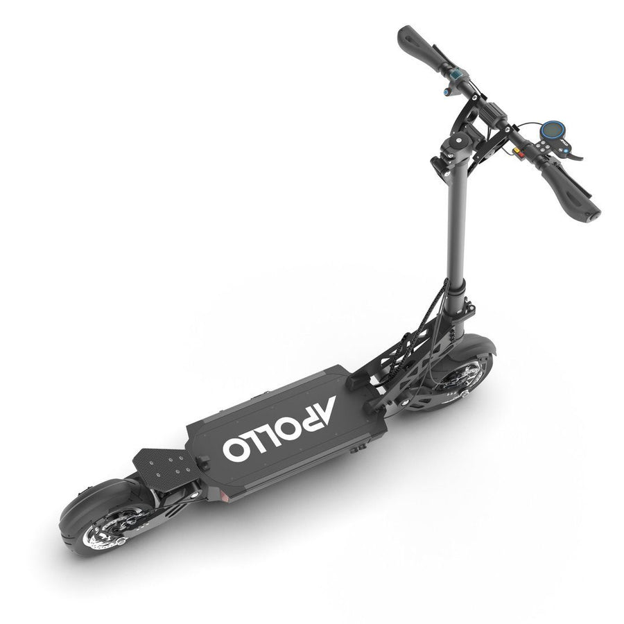 apollo ghost electric scooter down view