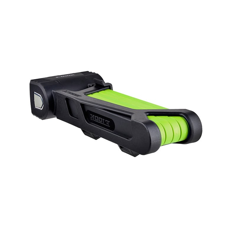 premium electric scooter lock green