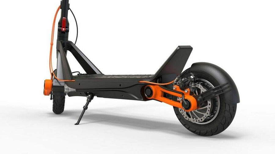 inokim ox eco e-scooter rough terrain suspension