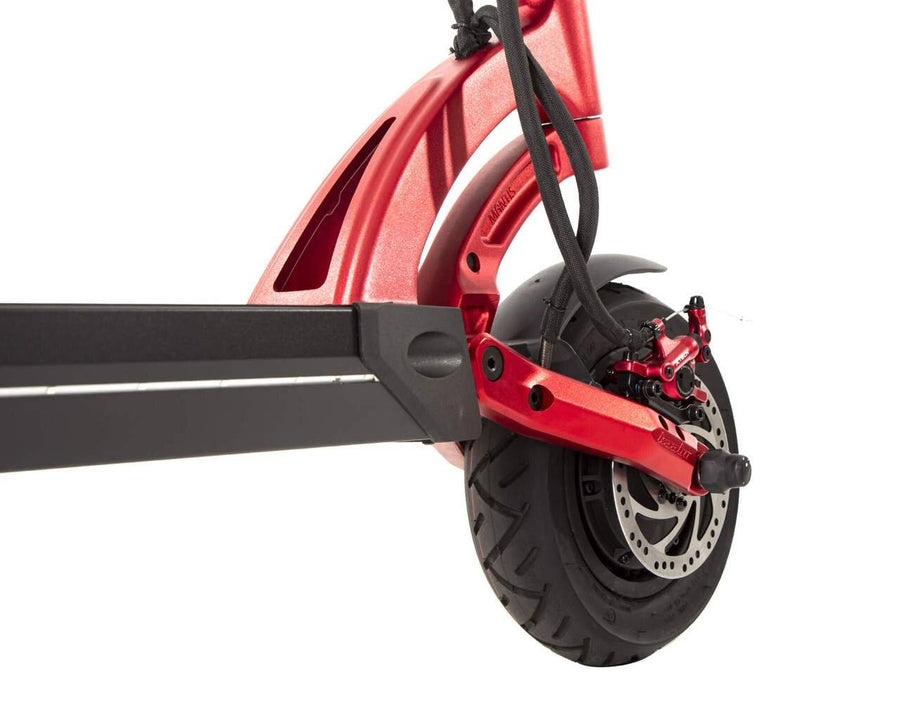kaabo mantis 10 duo electric scooter front wheel