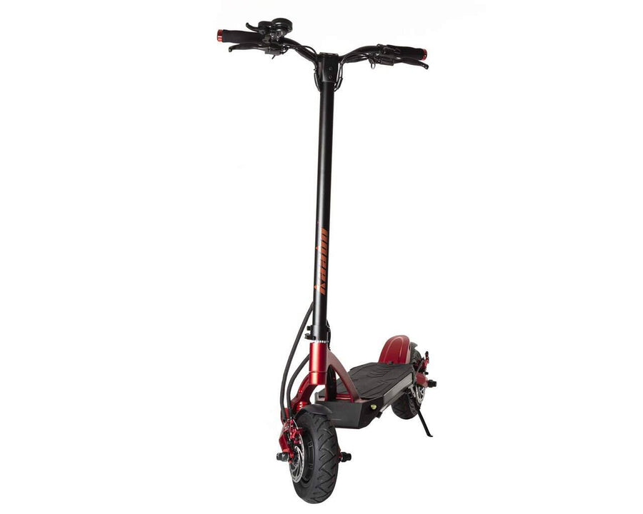 kaabo mantis 10 duo electric scooter red black