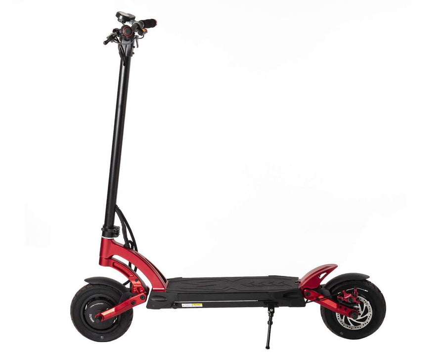 kaabo mantis 10 duo electric scooter side