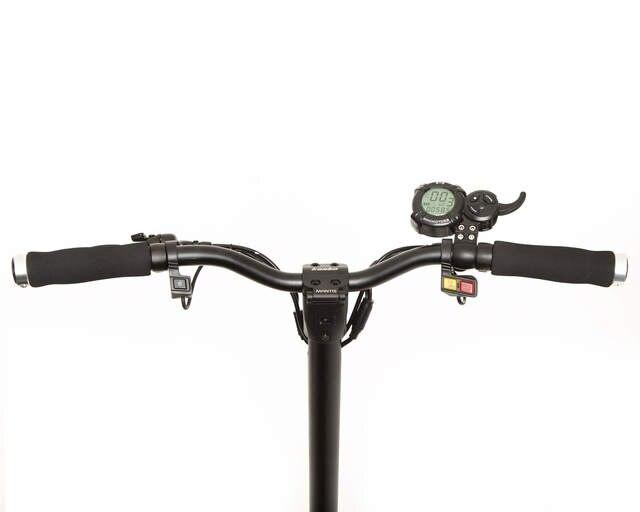 kaabo mantis elite electric scooter handlebar dashboard
