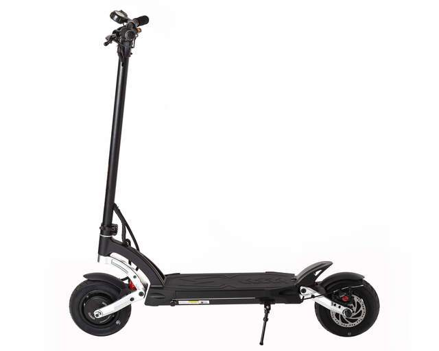 kaabo mantis elite electric scooter side