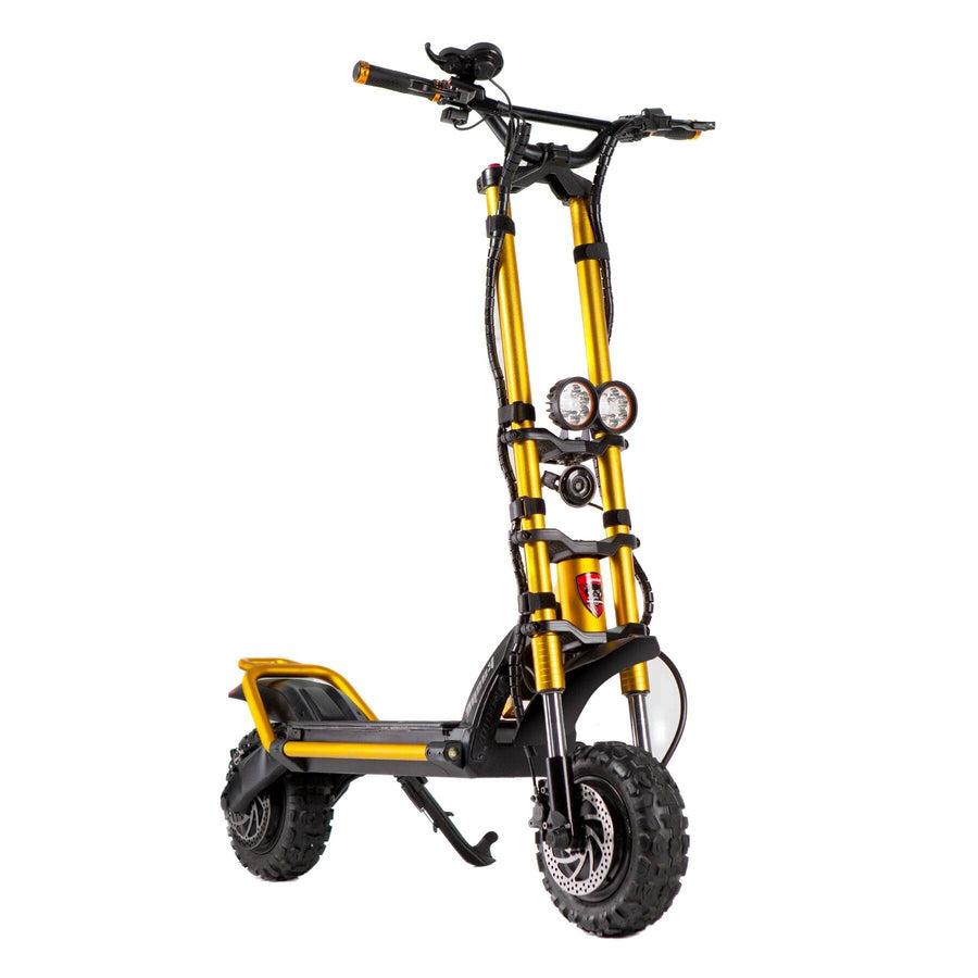 kaabo wolf king electric scooter gold