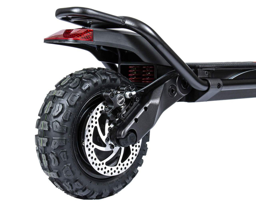 kaabo wolf king electric scooter rear wheel