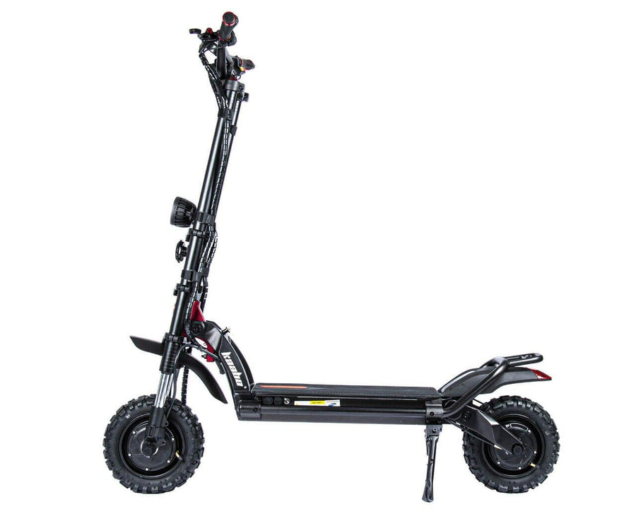 kaabo wolf warrior 11+ electric scooter side