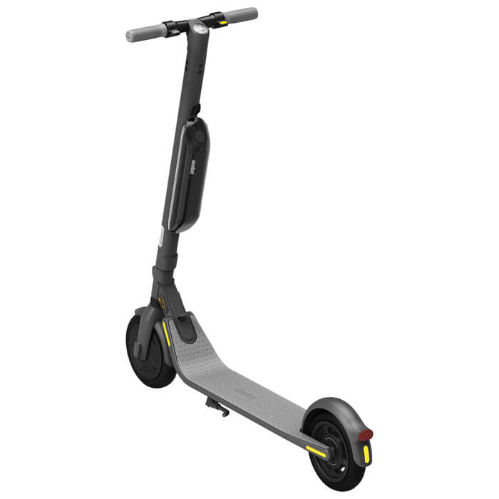 segway ninebot e45 electric scooter back