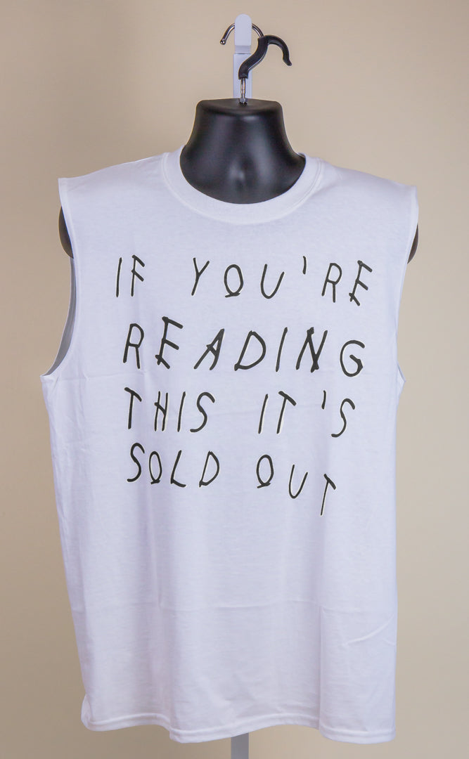 DOSOS Sold Out Sleeveless Tee