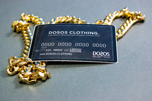 DOSOS Sticker (Black Card Inspired)