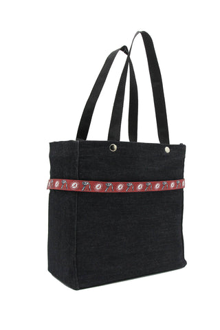 Clear stadium bag with Alabama Crimson Tide sleeve