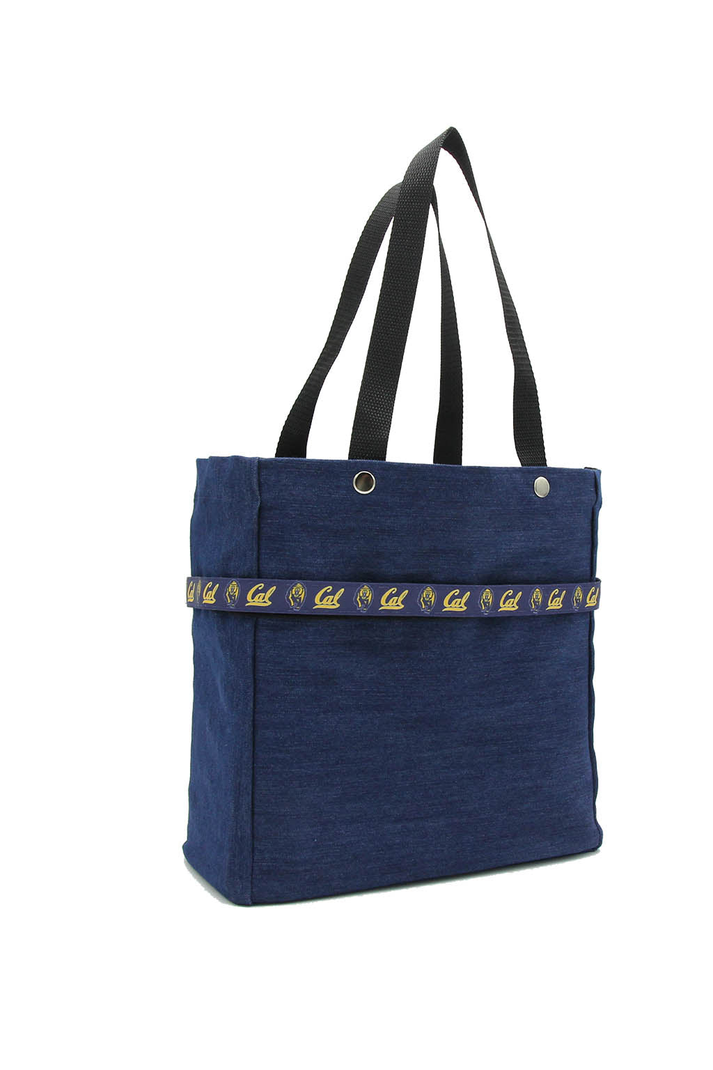 Clear stadium bag with Cal Bears sleeve