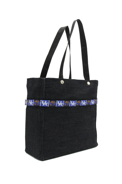 Clear stadium bag with Kentucky Wildcats sleeve