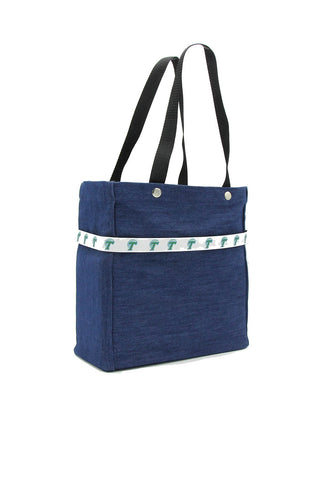 College Ribbon Tote - Tulane Green Wave