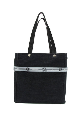NFL Ribbon Tote - Las Vegas Raiders