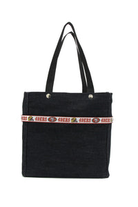 NFL Ribbon Tote - San Francisco 49'ers