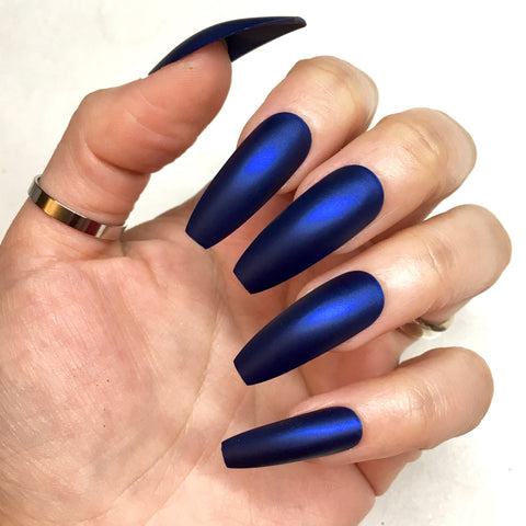 Ready to Ship I Royal Blue Metallic Set
