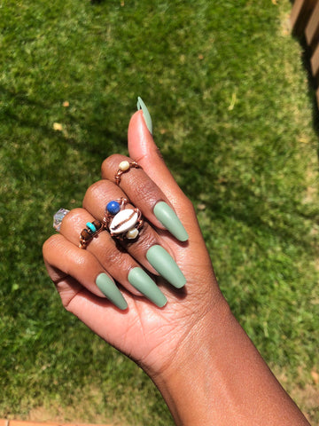 Ready to Ship I Matte Military Green Set