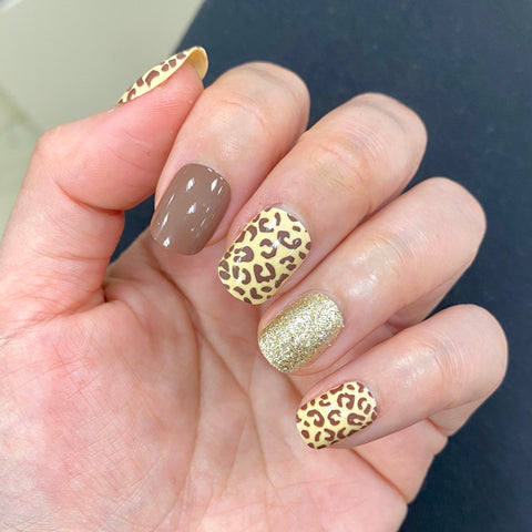 Ready to Ship I Leopard Short Oval Set