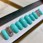 Tiffany Blue Swarovski Crystal Set