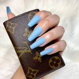 Ready to Ship I Matte Maya Blue Set