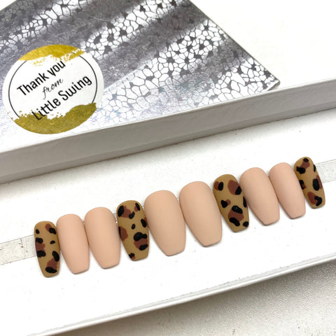 Leopard Matte Finish Set
