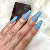 Ready to Ship I Matte Blue Set